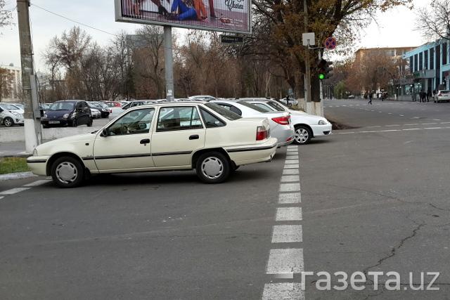 В Узбекистане теперь фиксировать неправильную парковку будут в отсутствие водителей